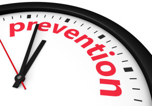 Clock that Says Prevention Indication that It's Time for Preventing Gum Disease